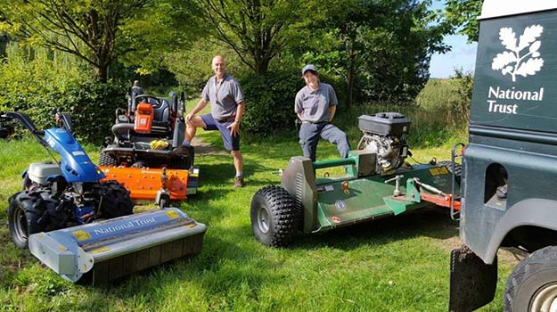 National Trust mowers