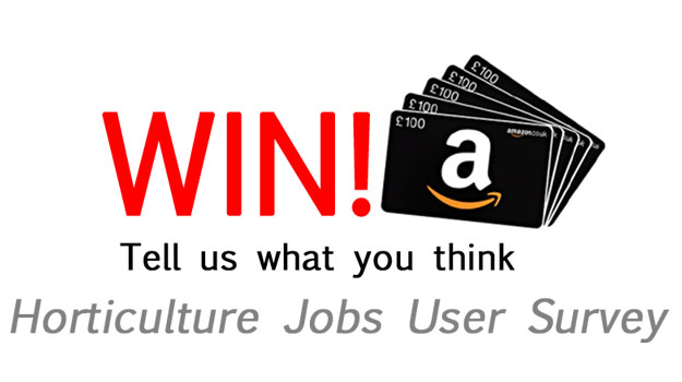 Win £100 Amazon voucher: Horticulture Jobs user survey