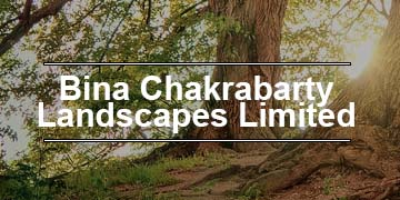 Bina Chakrabarty Landscapes Ltd. logo